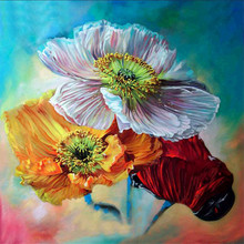 DIY Diamond painting cross stitch Painting Crafts Embroidery  Flower Decoration Gifts 5D Mosaic