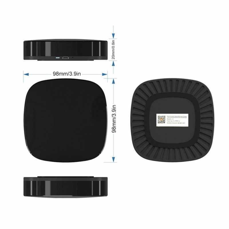 Универсальный Wifi умный дом пульт дистанционного управления ИК поддержка голоса для Alexa IFTTT Google Новый