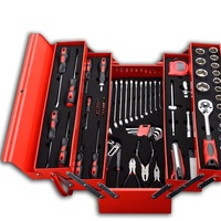 YOFE 70PCS Repair Tool Set Homeowner's Tool Kit Screwdriver Ratchet Wrench Socket Plier HT1322