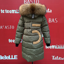 Long Solid Coat Hooded Zipper Winter Jacket Thick Fur Women Parkas Slim Pockets Green Snow Warm Female Clothing 2016 Plus Size