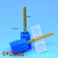 4 0mm Strawberry Carbide Tool PCB Milling Cutter CNC Wood Bit Router Metal Rotary File Corn