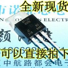 100 шт. BT136 600E 220 BT136 BT136 600 TO220 600V 4A Triacs RAIL TRIAC Новый и оригинальный