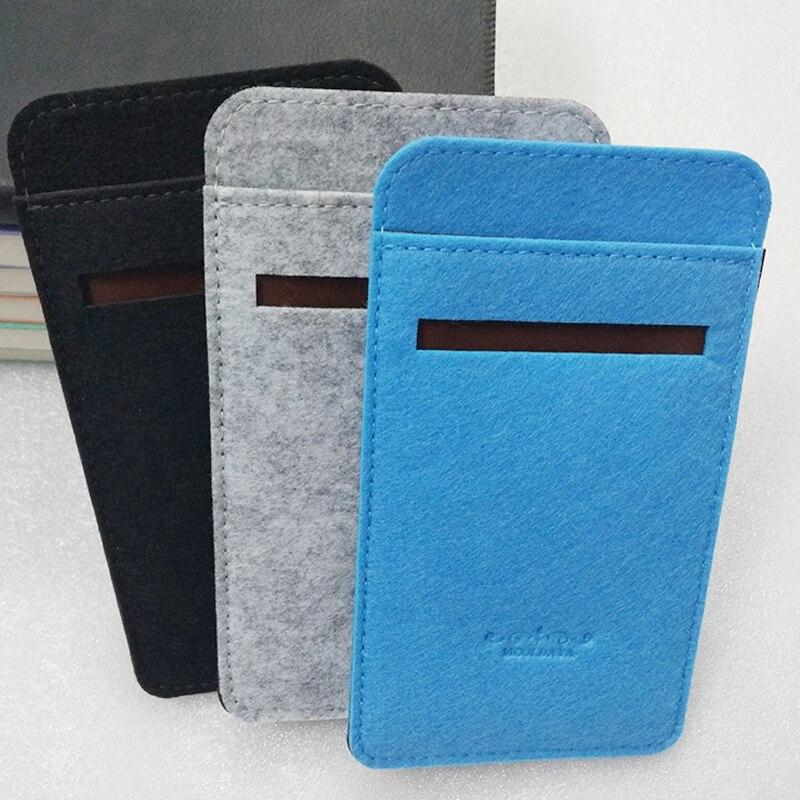 Xiaomi Powerbank Case For 10000 MAh 2 Pro 3 Mi Power Bank 3 10000mah Felt Fabric Case Cozy Cover Portable External Battery Pack