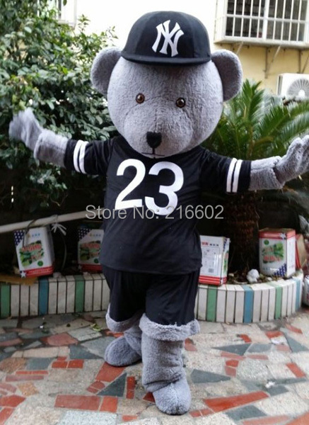 cosplay costumes Teddy Bear Mascot Costume Adult Size Teddy Bear Mascotte Suit Fit Fancy Dress Free Shipping