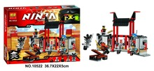 Bela 10522 Thunder Swordman Ninja Ninjagoes Prison Fuzion Minifigure Building Block Compatible with legoe 70591 Toys