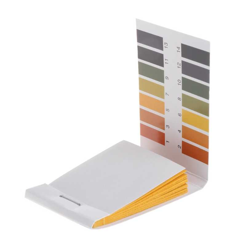 80 Pcs Test Papier 1-14PH Oplossing Strips Litmus Tool Kit Indicator Aquarium Vijver JUN-1A