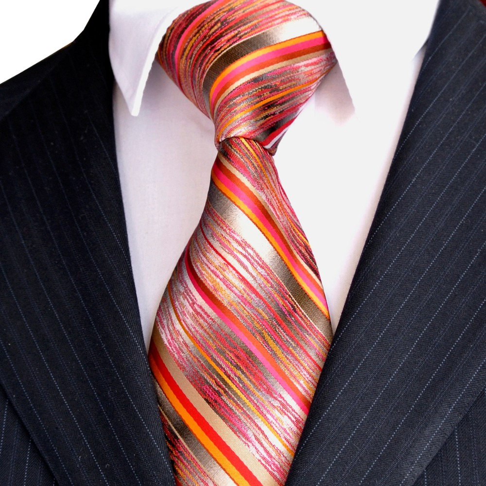 Free Shipping Stripes Paisley Multicolor Green Yellow Red Pink Black - Apparel Accessories - Photo 4