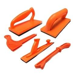 Narzędzia do obróbki drewna 5 zestawów plastikowy stół popychacz Push Block i pakiet Stick w Piła od Narzędzia na