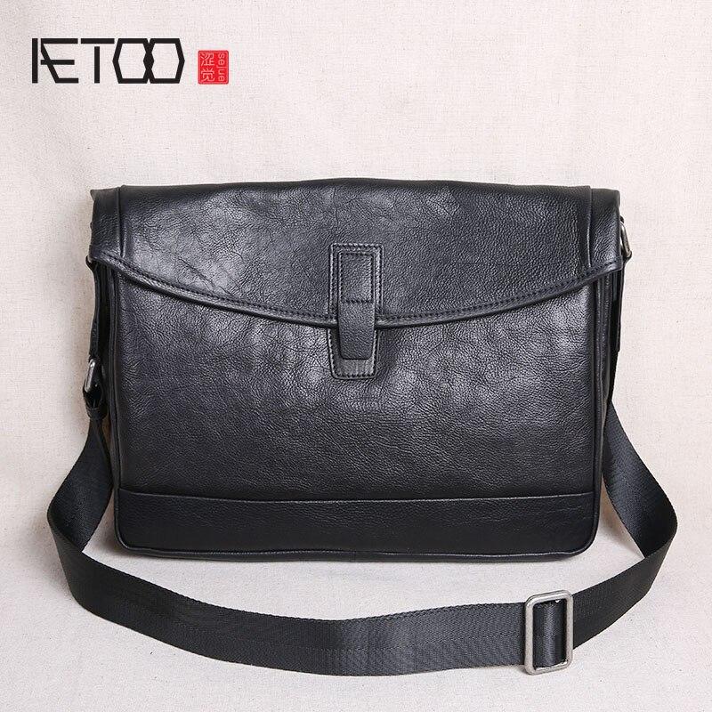 Здесь можно купить  AETOO Shoulder bag men