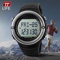 TTLIFE 1111 Sport Relojes Monitor de Ritmo Cardíaco Reloj Hombres Mujeres Reloj Digital LED Reloj Podómetro Contador de Paso de Calorías Impermeable