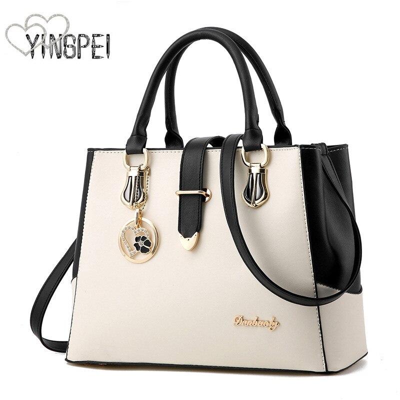 Women Bag Fashion Casual Women's Handbags Luxury Handbag Designer Shoulder Bags New Bags For Women 2019 Bolsos Mujer Withe