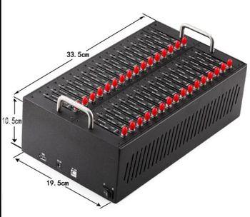 Bulk SMS 32 Port Modem Pool, AT Command GSM 32 Port USB Modem Pool Quad Band 850/900/1800/1900MHz