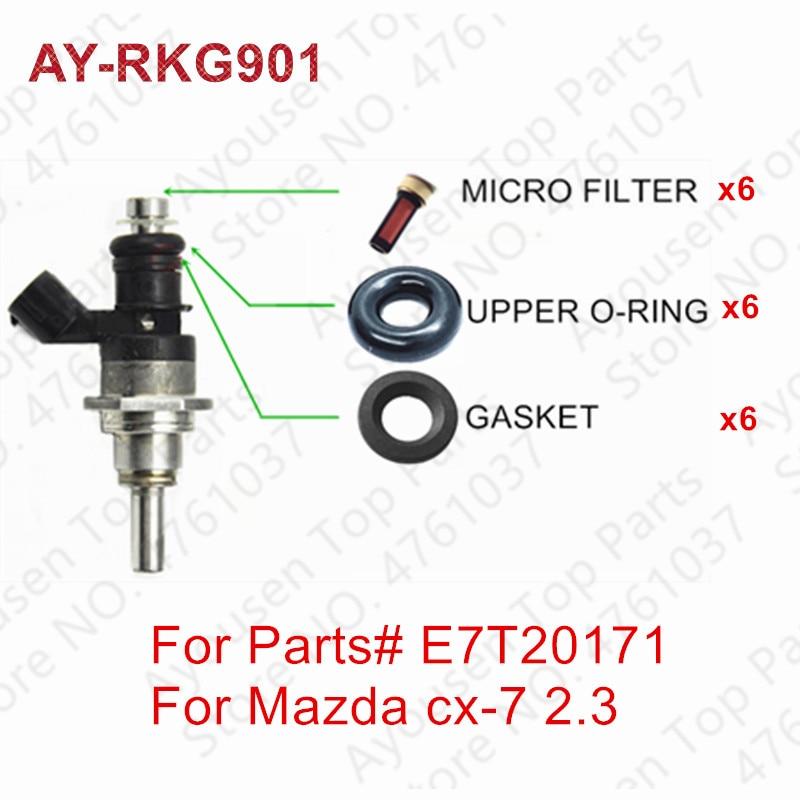 Vortec Fuel Injector Repair Rebuild Kit for Chevrolet GMC 6 cyl 4.3L 1996-2014