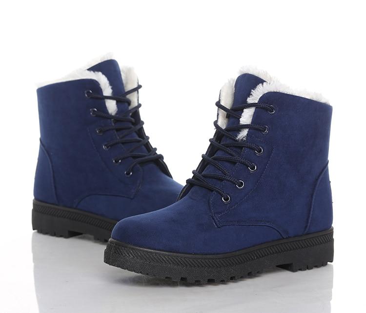 Women's High Heels Plush Winter Boots 32