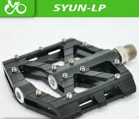 Free shipping SYUN-LP ultralight DH MTB BMX breaing alloy platform bicycle pedal Bicycle accessories, bicycle parts