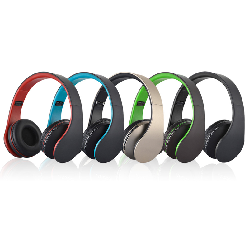 Digital 4 in 1 Multifunction LH-811 Stereo Bluetooth 4.1 + EDR Headset Wireless Headphones Music Headphones with Micphone