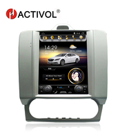 Hactivol Vertical 10.4 quadcore car radio for Ford Focus 2005 2011 android 4.4 car dvd player with 1G RAM 32G ROM