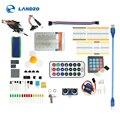UNO R3 Starter kit обучения комплект обновленная версия 9 г сервер/датчик/1602 ЖК-дисплей/перемычку/ООН R3/резистор