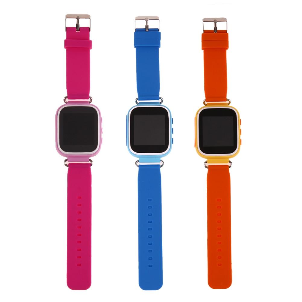 Смарт-трекер часы для малыша ABS ПК Материал анти потерять sos-вызов интеллектуального устройства 1.44 inch Симпатичные умный студентов смотреть