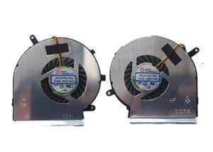 Ssea novo original cpu gpu ventilador de refrigeração para msi ge62 ge72 gl62 gl72 gp62 gp72 pe60 pe70 fã paad06015sl atacado