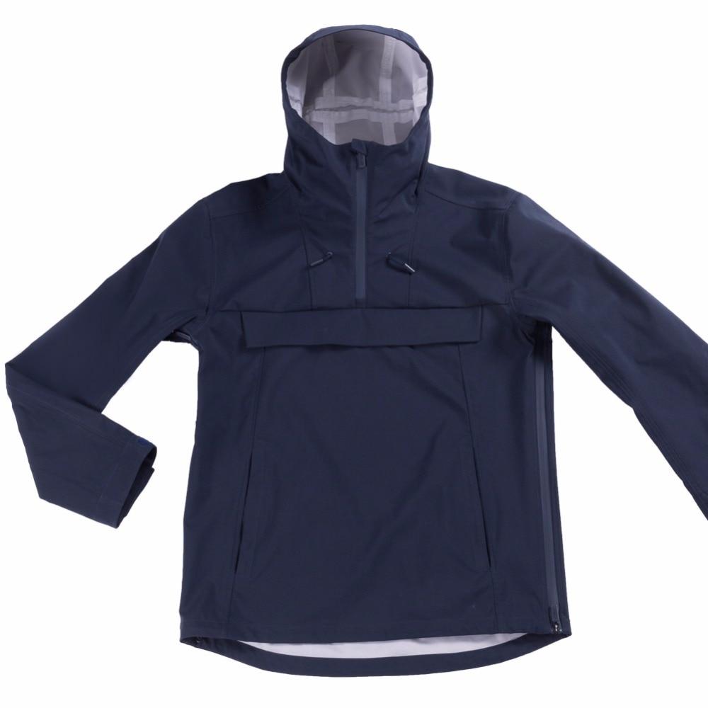 Unisex Hooded Jacket Waterproof Lightweight Windbreaker Rain Jacket Shell Outdoor Raincoat For Cycling Mountain Hiking Camping