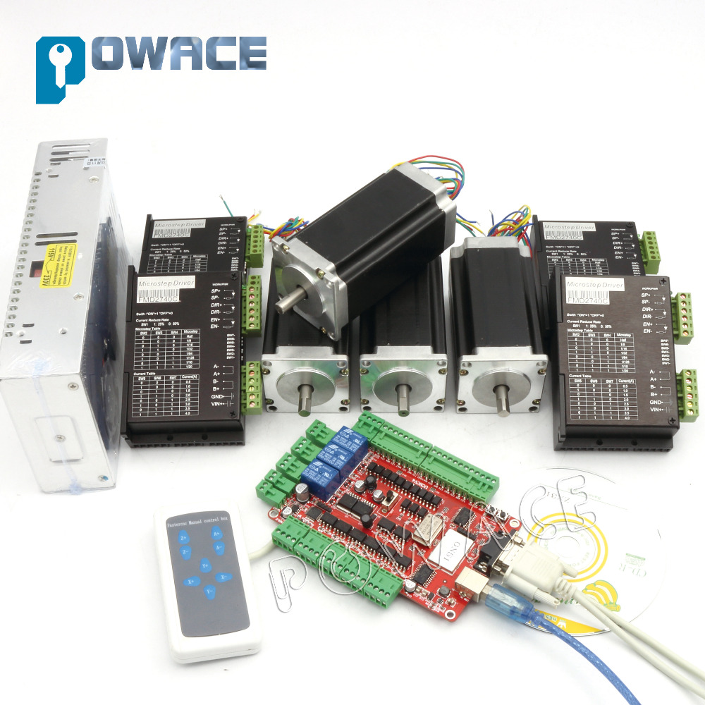 Buy 4 aixs stepper motor controller kit for Stepper motor controller software freeware