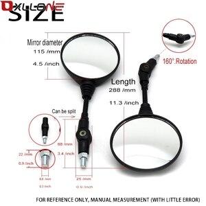 Image 5 - Đa Năng Đen Gấp Gọn Gương Xe Máy Dành Cho Xe Honda Yamaha Kawasaki Z750 Suzuki Ducati 899 959 1098 1100 1198