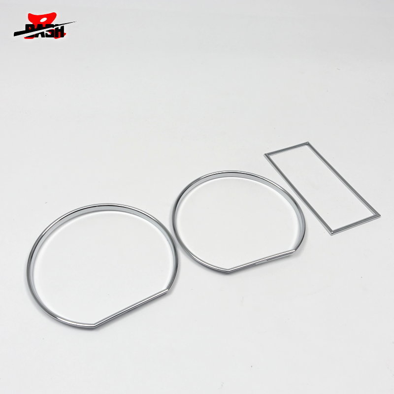 US $20 0 |DASH for Volkswagen for VW Golf 2 MK2 Chrome Cluster Rings Chrome  Gauge Rings DASH board ABS-in Speedometers from Automobiles & Motorcycles