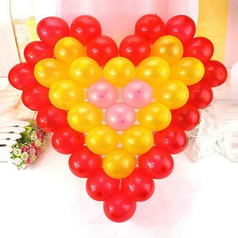 2018 Real Baloons 20units/lot New Heart Shape Net Holder Balloon ...