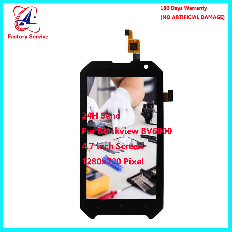 For Original Blackview BV6000 LCD Screen Display+Touch Screen Digitizer Sensor Assembly Replacement 4.7 1280x720PFor Original Blackview BV6000 LCD Screen Display+Touch Screen Digitizer Sensor Assembly Replacement 4.7 1280x720P
