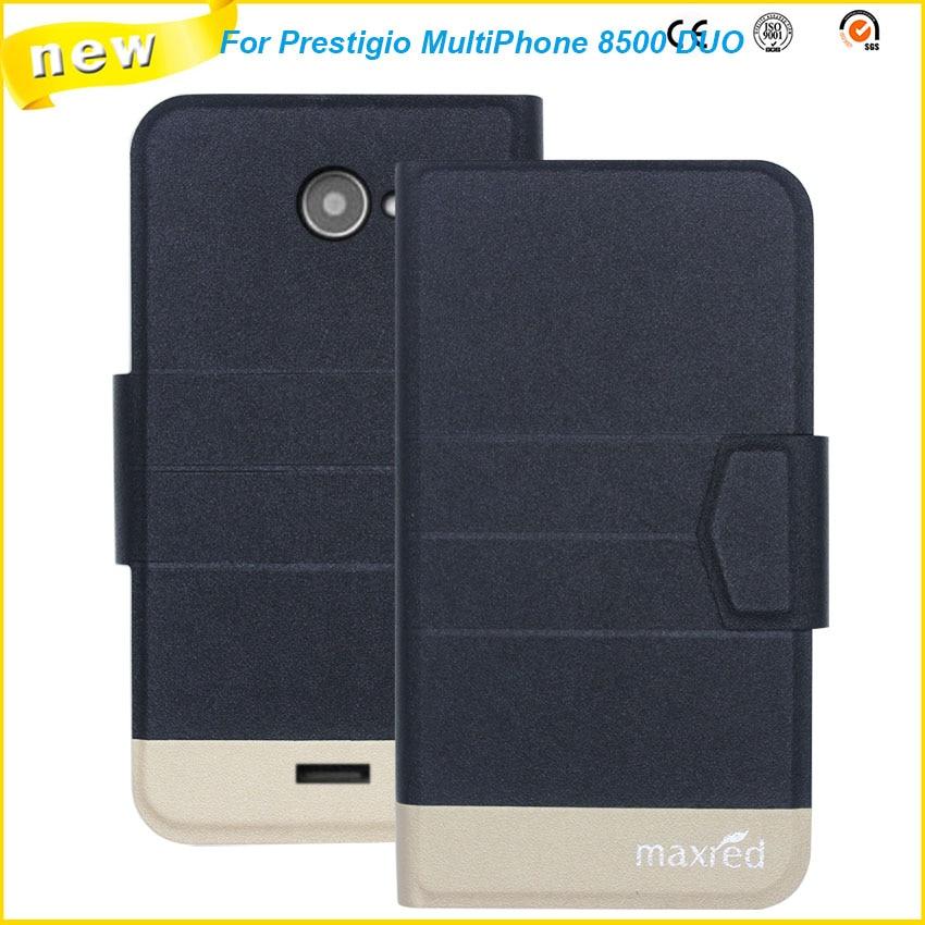 2016 Super! Prestigio MultiPhone 8500 DUO Fodral, 5 färger Factory - Reservdelar och tillbehör för mobiltelefoner - Foto 2