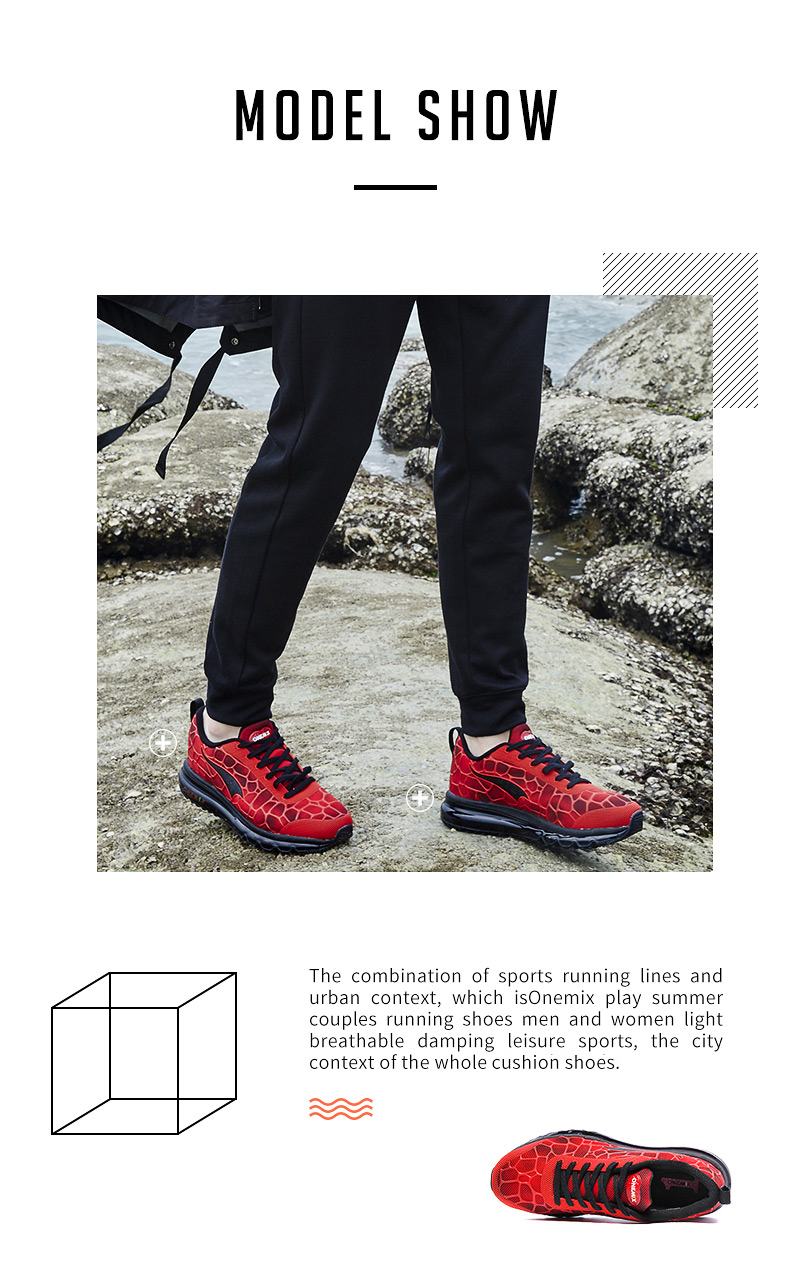 Hot onemix 17 Men Air Running Shoes Outdoor sport shoes Breathable Mesh Walking Sneakers Lightweight Breathable Athletic Shoes 8