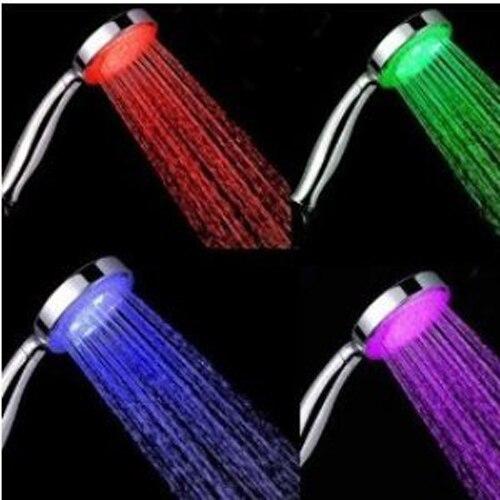7 color led lights shower head bathroom mainland