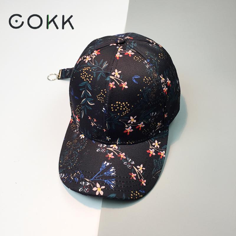Prix pour Cokk d'été cap hommes pare-soleil papa chapeau floral snapback chapeaux pour les Femmes Unisexe Casquette de baseball Féminin Club Parti Hip Hop Caps Femmes