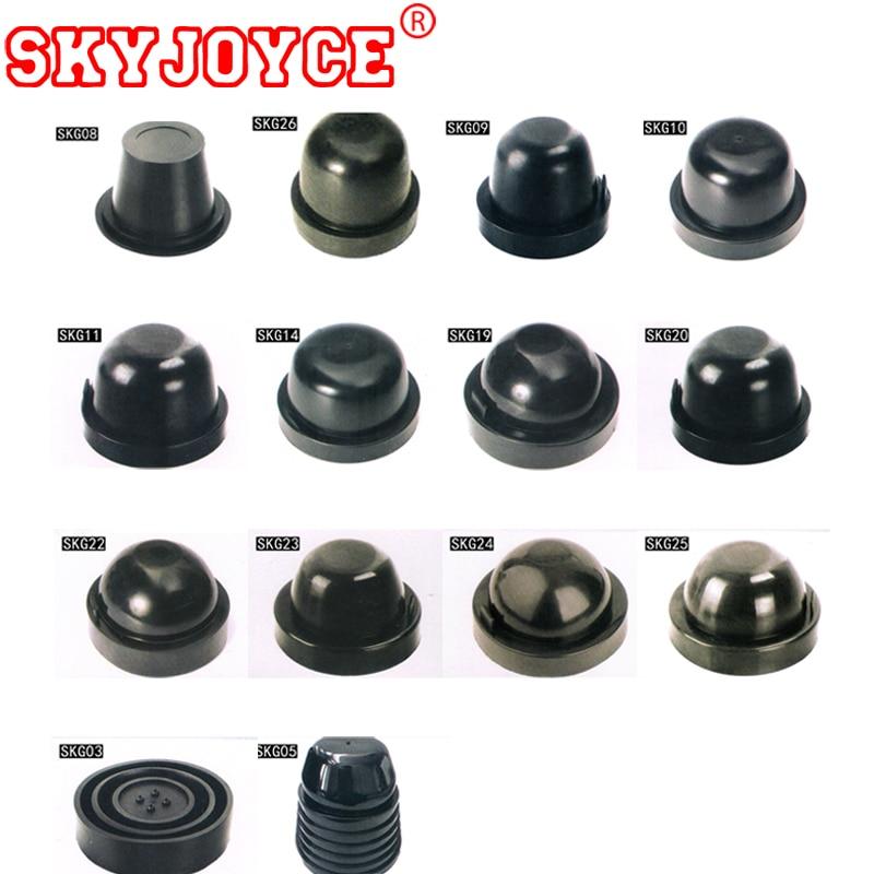 SKYJOYC 2PCS HID LED Headlight Headlamp Dust Cover Cap Rubber Waterproof Dustproof Sealing 75mm 80mm 85mm 90mm 100mm 105mm 110mm