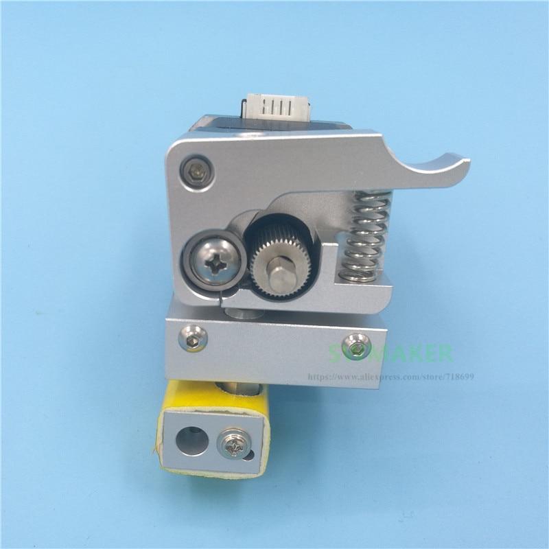 Wanhao i3 3D printer Upgrade MK10 PTFE lined Hotend metal extruder kit for Wanhao i3 0
