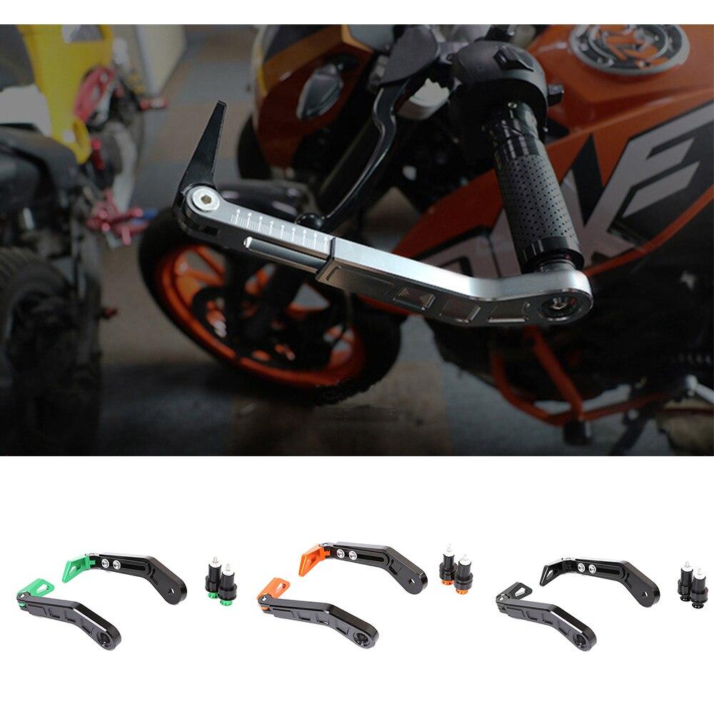 Универсальный мотоцикла 7/8 22 мм Регулируемый тормоз рычаг сцепления Handguard для GSX S750 S1000 XSR 900 Kawasaki Z650 2017 ZX10R 2016