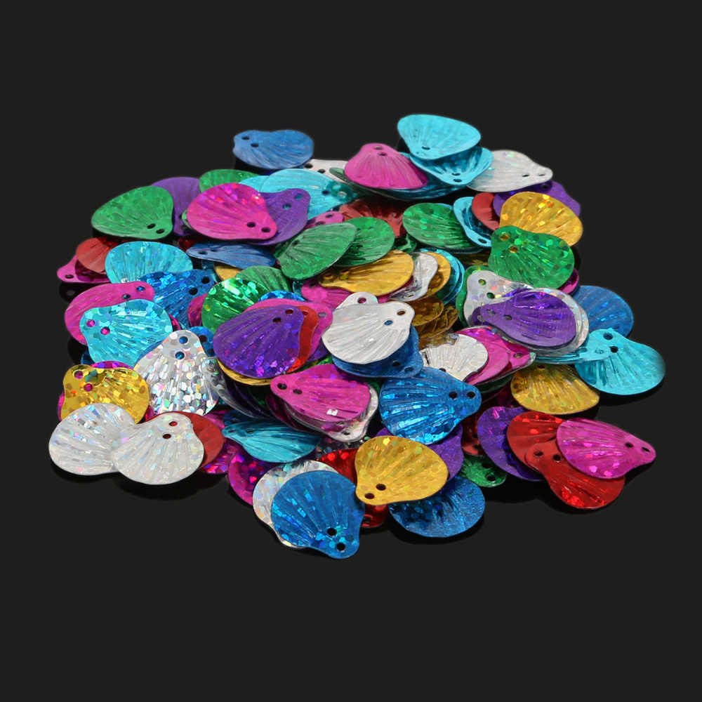 7 Stile Paillettes Laser Colore Misto 20g Bambini Vestiti di Paillettes Paillette Cucire, Craft Wedding Donna Bambini Abbigliamento FAI DA TE accessorio