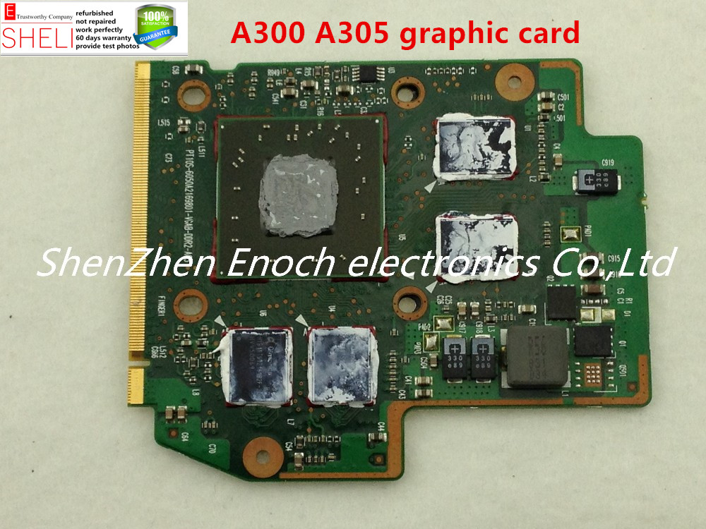 цена V000121530 video card For Toshiba satellite A300 A305 motherboard VGA video card PT10S-6050A2169801-VGAB-DDR2-A03