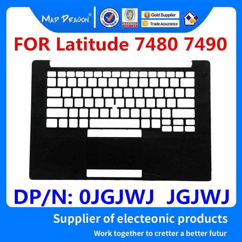 MAD DRAGON tout nouveau ordinateur portable Palmrest couvercle supérieur boîtier supérieur noir C shell pour Dell Latitude 7480 7490 E7480 E7490 JGJWJ 0 JGJWJ