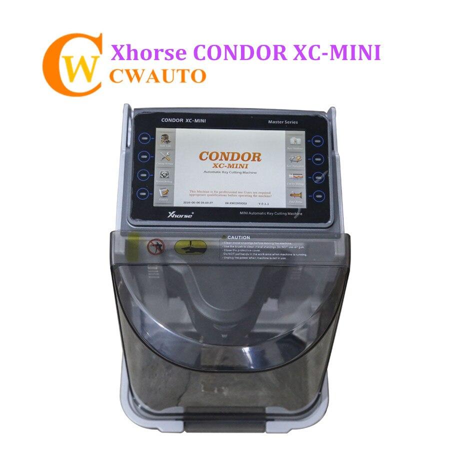 Xhorse CONDOR XC мини автоматическая машина для резки ключей iKeycutter с несколькими языками DHL Бесплатная доставка