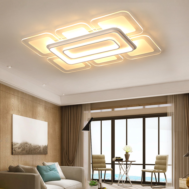 In Quality Friendly Modern Led Ceiling Lamp Led Lamps High Power Living Room Funnel Ceiling Lamps White/warm Light Led Lustre Lights Ceiling Lights Excellent