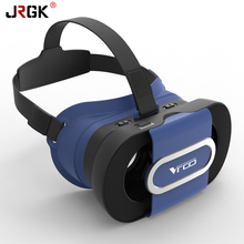 RITECH VR GO Virtual Reality Oculos VR Cardboard Foldable 3D Video VR Glasses Box 3D Helmet For 4.7-6.0 inches Smartphone
