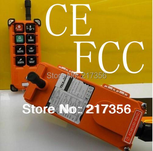 Prix pour F21-E1B (comprennent 1 émetteur et 1 récepteur)/6 boutons 1 Vitesse de Levage grue télécommande sans fil radio Uting télécommande