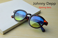 Pirate captain Johnny Depp men lemtosh eye galsses women brand sunglasses SO SMOOTH WIND Can be make dyed Pirate lenses