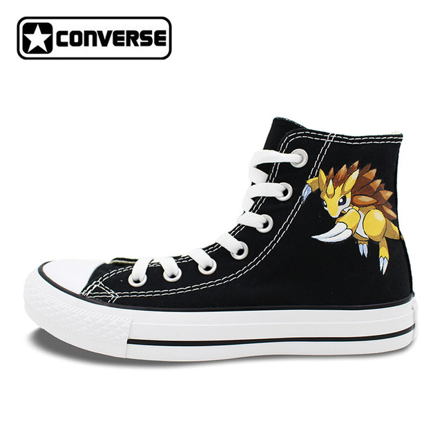 size 40 5d96d d7051 Personalizzata-Converse-All-Star-Pokemon-Scarpe -Nero-Sandslash-Pangolin-Disegno-Dipinto-A-Mano-Su-Tela-Sneakers.jpg 640x640.jpg