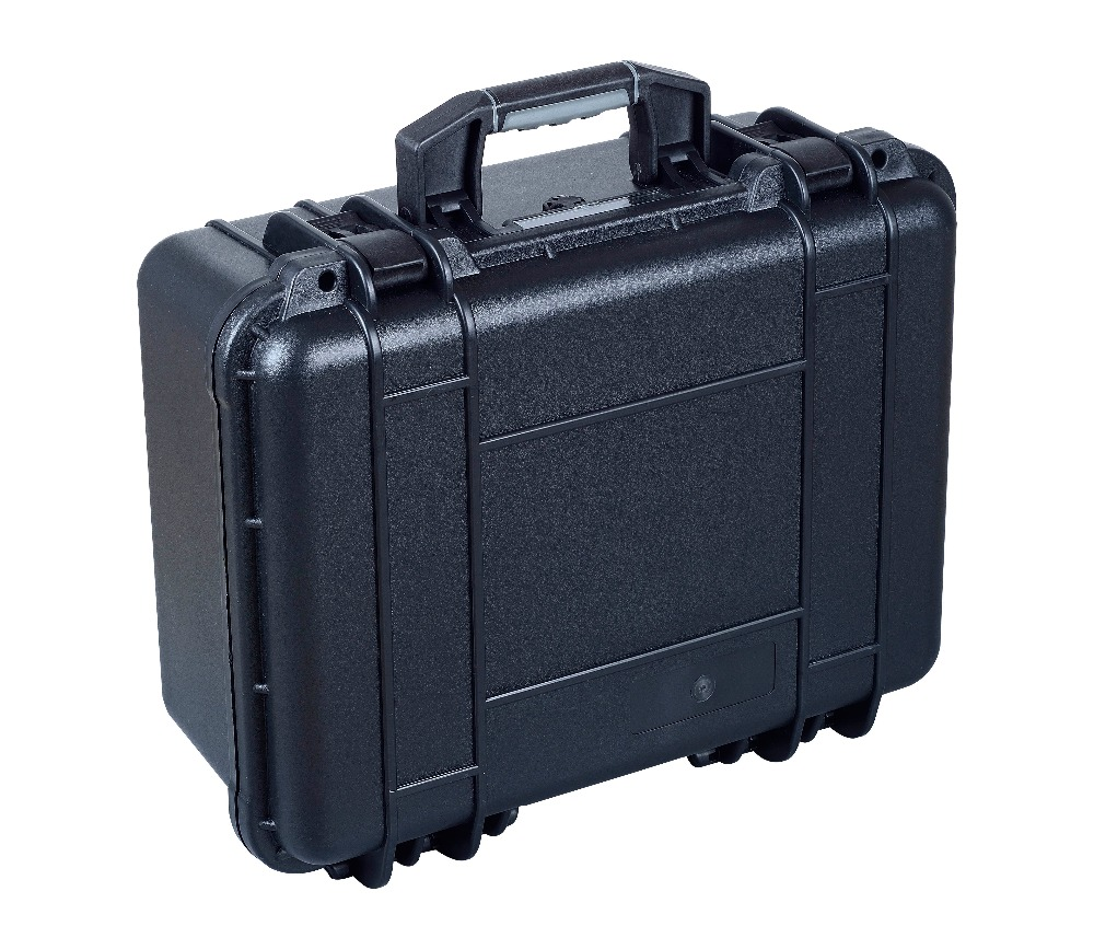 Hard Plastic Heavy duty watertight shockproof Case with uncut foam