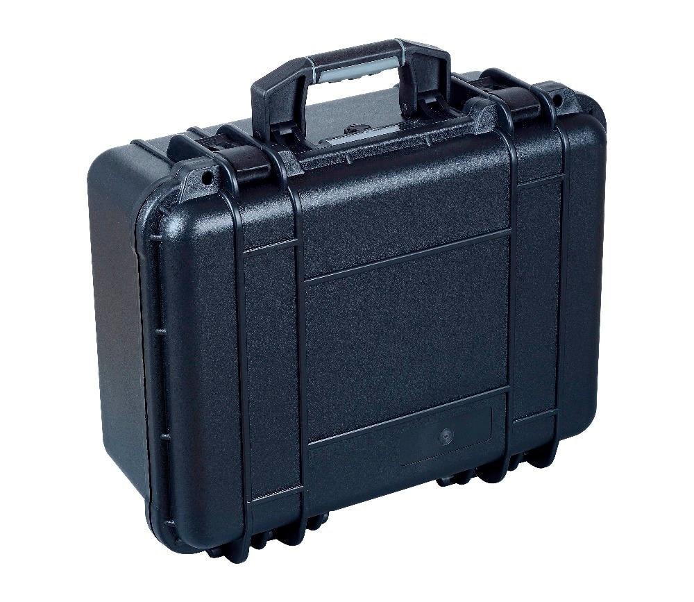 Hard Plastic Heavy duty watertight shockproof Case with uncut foam sq5124 shockproof plastic transport case without foam