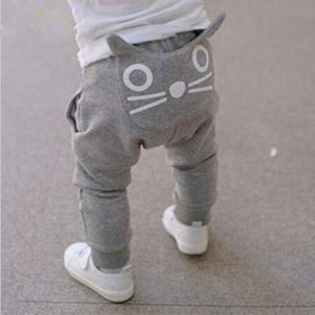 Cute Cartoon Pattern Baby Pants