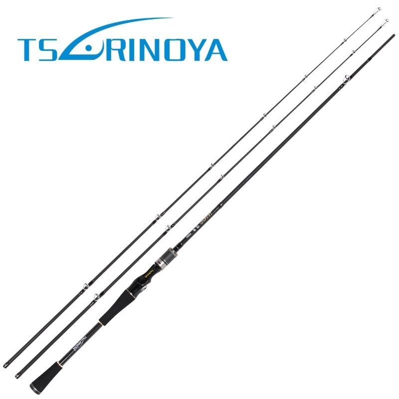 Trulinoya 2.1m 2Tips(M/MH Power) Spinning Casting Fishing Rod 2Secs Carbon Rods Stick Vara De Pesca Carp Olta Fishing Tackle